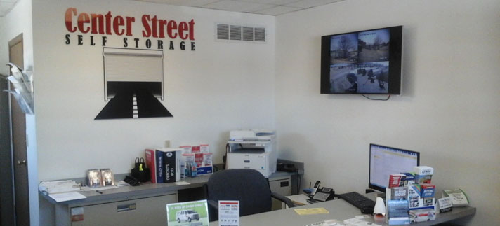 Center Street Self Storage Office